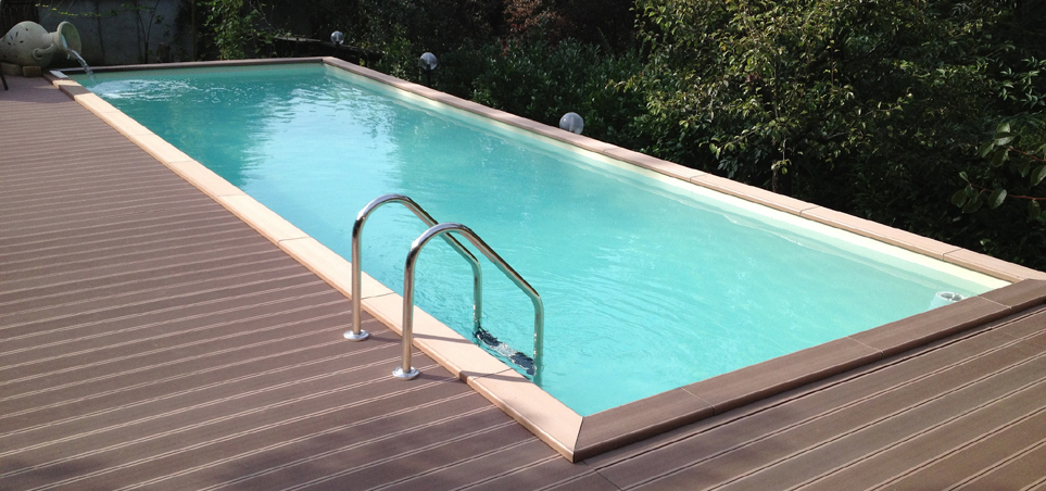Habillage piscine interesting piscine hors sol en bois for Piscine diffusion